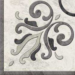 """Декор """"SALOTTO"""" 45x45 блиск, gris (Польша.Paradyz)"""