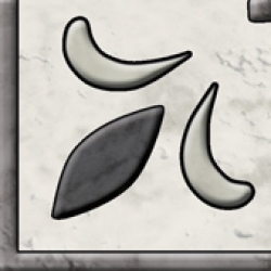 """Вставка для пола """"SALOTTO"""" 7,2x7,2 блиск, gris (Польша.Paradyz)"""