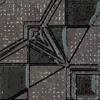 "Вставка ""LENSITILE"" 7,2x7,2 naroznik, grafit (Польша.Paradyz)"